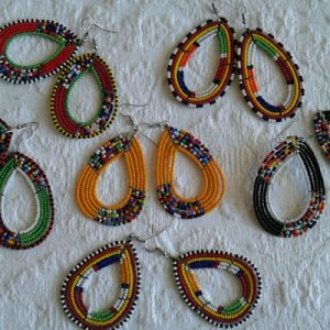 Traditional Maasai (Masai) Earrings