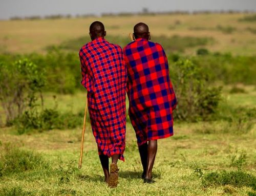 Maasai Shukas can keep you warm too