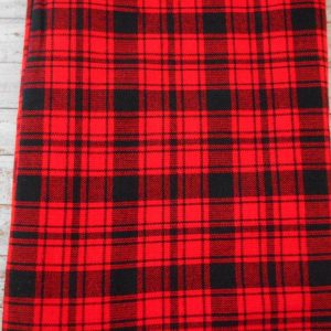 masai shuka blanket red and black