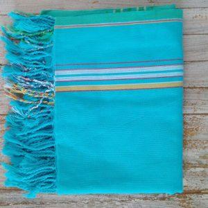 sarong kikoy turquoise