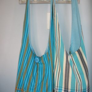 sling bags turquoise kikoy