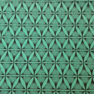 PICNIC BLANKET shweshwe cotton fabric green
