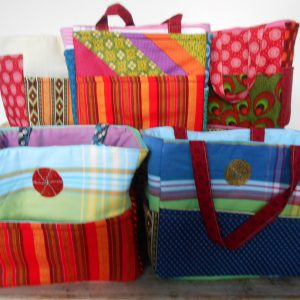beach bags, sling bags, shopping bags,