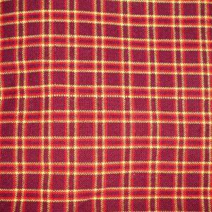 shuka blankets dark red squares