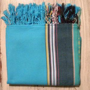 kikoy wrap turquoise