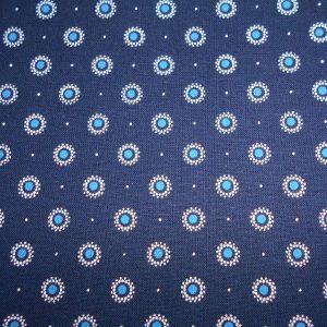 Picnic blanket, padded, waterproof lined, shweshwe cotton fabric