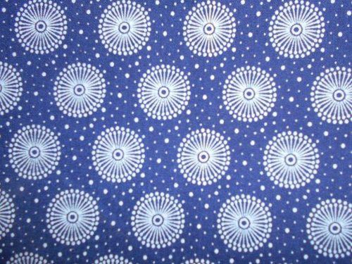 Picnic blanket, shweshwe cotton, padded, waterproof lining