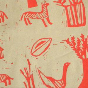 picnic blanket, khoisan fabric, padded, lined