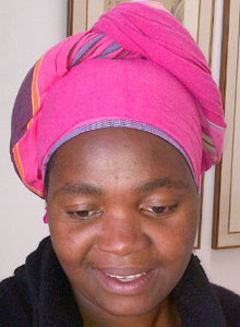 kikoy headdress, doek, headscarf