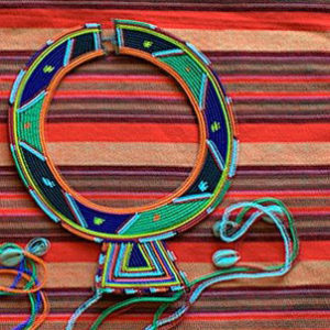 maasai bead necklace, small