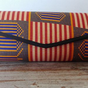 clutch bag in geometric design