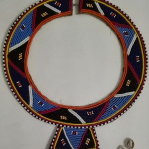 traditional masai bead necklace