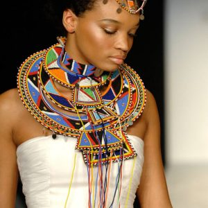 Traditional African bead necklaces & bead bracelets