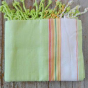 kikoy wrap, sarong, pale green
