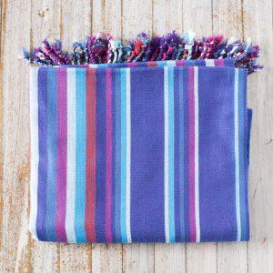 blue strip kikoy wrap